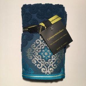 NWT Catherine Malandrino 2Pack Turkish Hand Towels